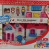 Голяма къща за кукли с обзавеждане