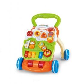 Музикална играчка за прохождане Baby Piano Walker