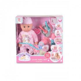 Кукла 36 см пишкаща - 8631