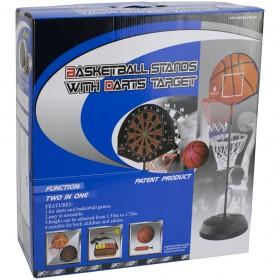 Баскетболен кош с дартс 300686