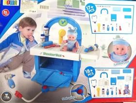 Докторски комплект с бебе
