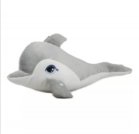 Плюшен делфин 80см
