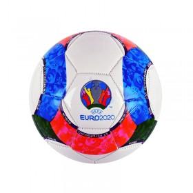 Футболна топка 5-ца /кожа/ еуро 2020