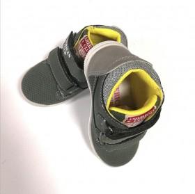 Кожени обувки момче KAKI