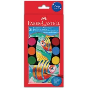 Акварелни бои Faber-castell, 21 цвята