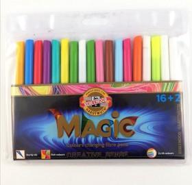 Флумастери magic 16+2 цвята