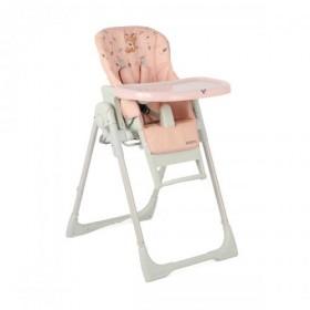 Детски стол за хранене Aspen 2 в 1 розов
