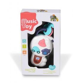 Бебешки музикален ключодържател - K999-82B