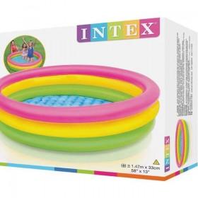 Intex - Детски басейн трицветен 57422