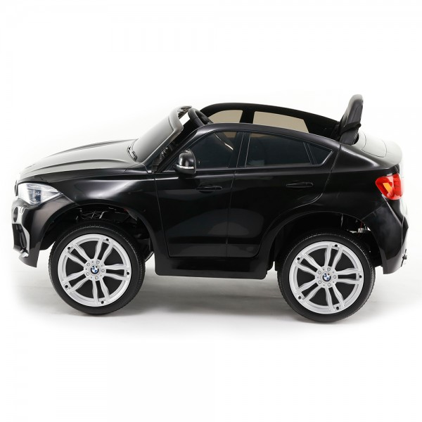 Акумулаторен джип BMW X6M кожена седалка - JJ2199