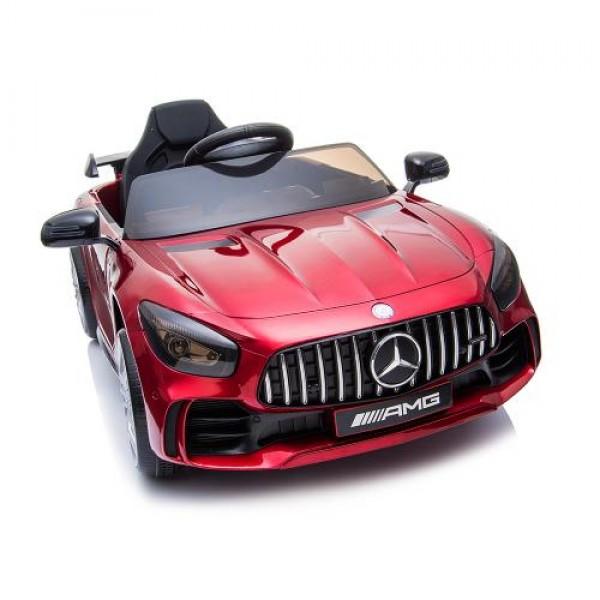 Акумулаторна кола Mercedes GTR AMG металик