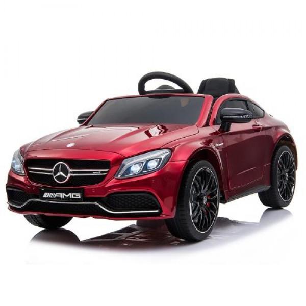 Акумулаторна кола Mercedes C63s металик - QY1588