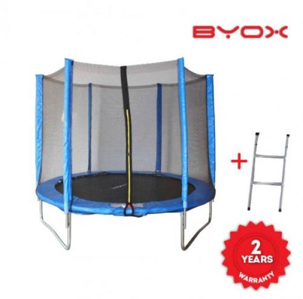 Батут с външна мрежа 10FT Jump - 304 см