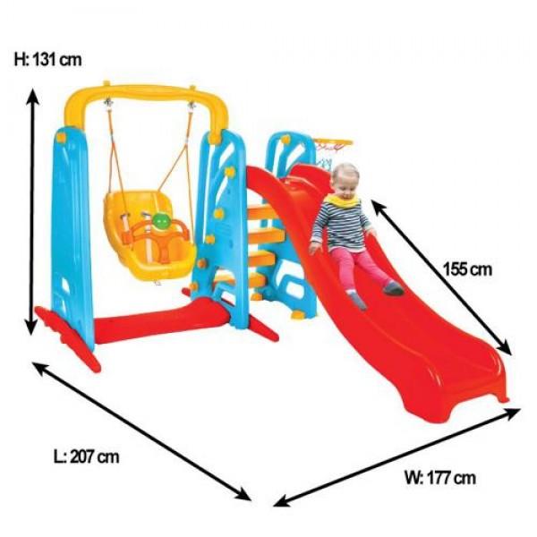 Пързалка с люлка Wavy - 06141