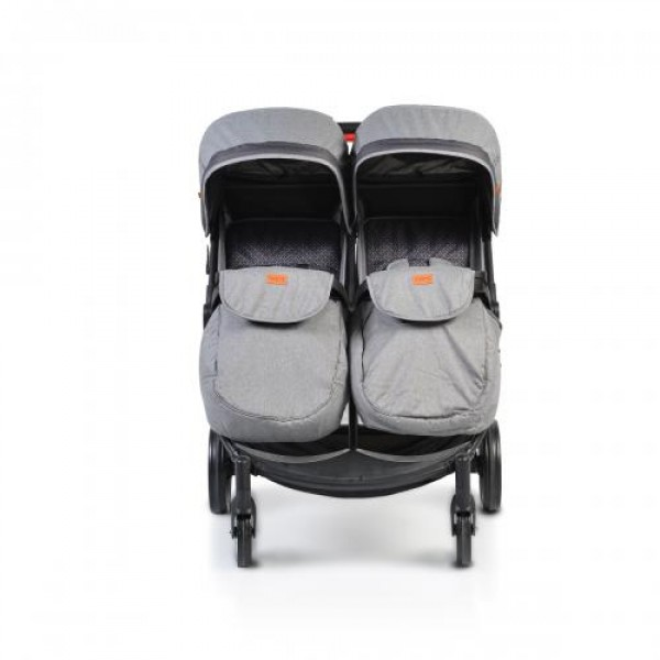 Комбинирана детска количка за близнаци Rome