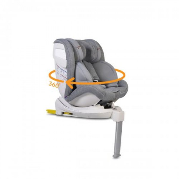 Стол за кола с Isofix система и телескопичен крак Admiral
