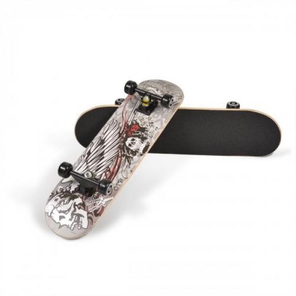 Скейтборд Lux - 3006 сив