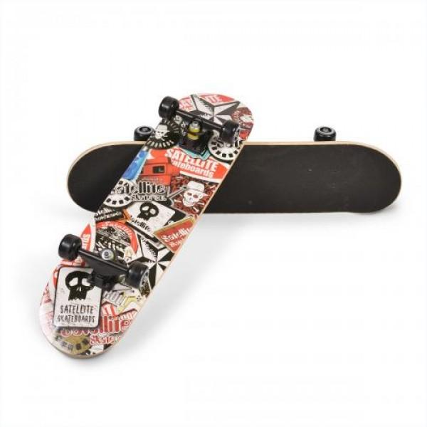 Скейтборд Lux - 3006 шарен