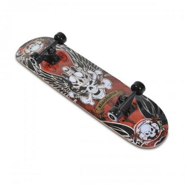 Скейтборд Lux - 3006 червен