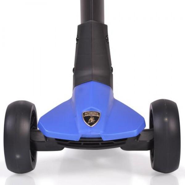 Тротинетка Lamborghini син