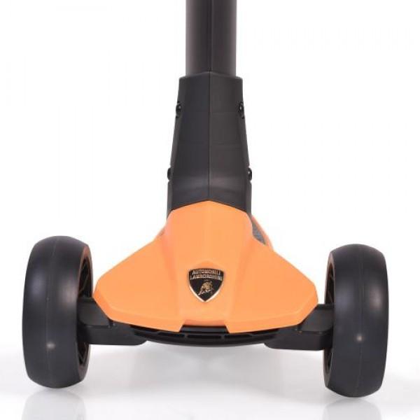 Тротинетка Lamborghini оранжев