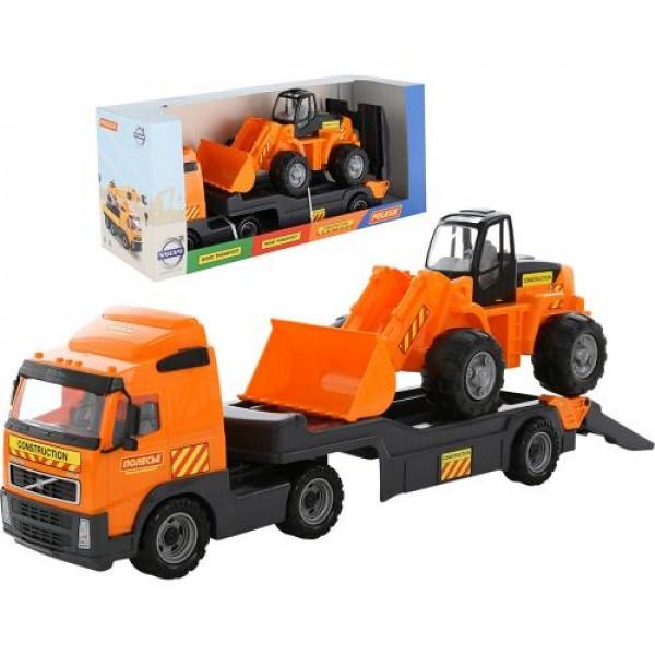 Влекач + трактор с гребло - 36896