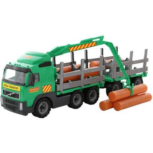 Камион с дървени трупи - 9500