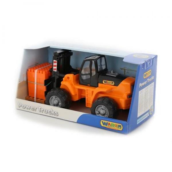 Мотокар Power с мини конструктор 30 ел. - 36759