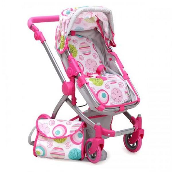 Количка за кукли Pink Rose - 9651B
