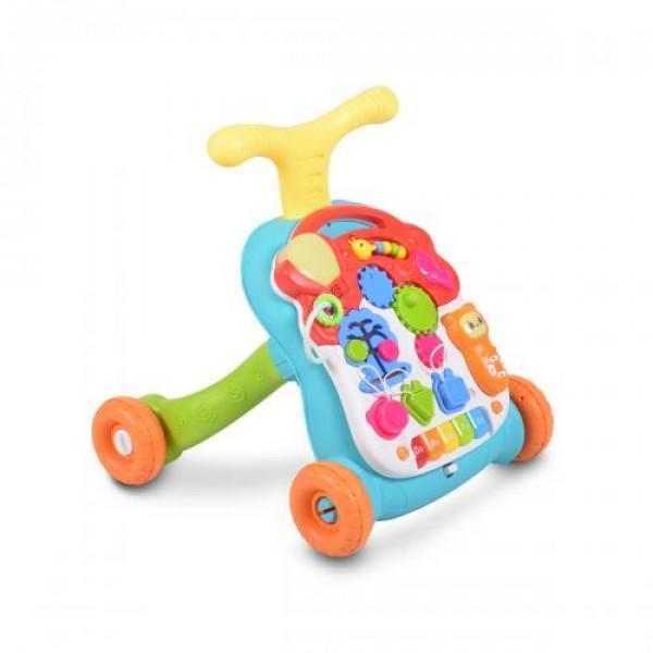 Музикална играчка за прохождане Musical Walker 2в1