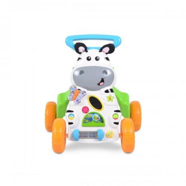 Музикална играчка за прохождане Little Zebra 2в1