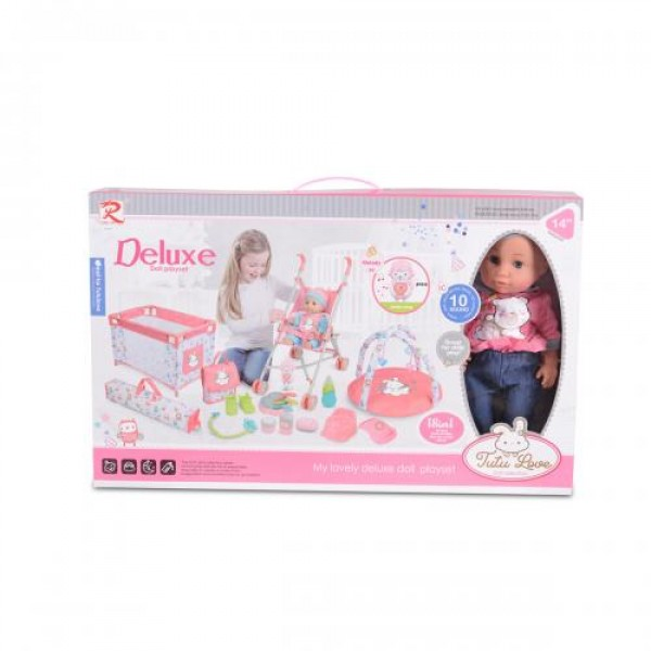 Кукла 36см с комплект за игра 89888