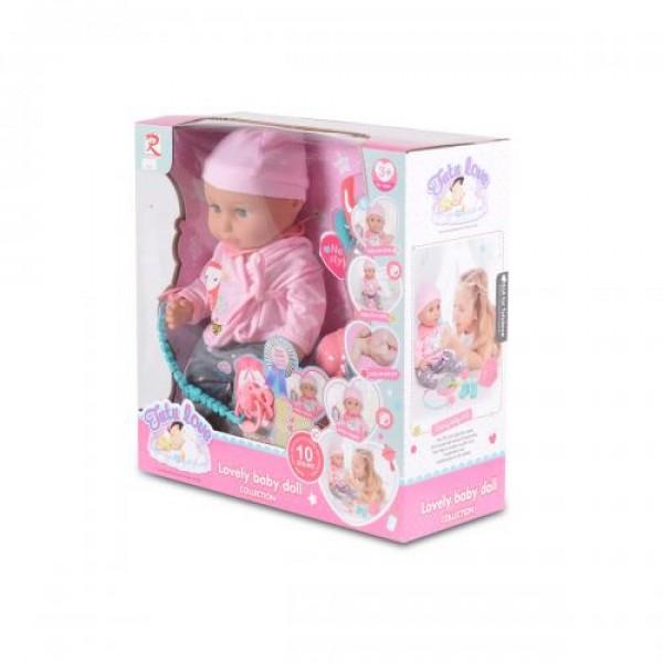 Кукла 36 см пишкаща - 8630