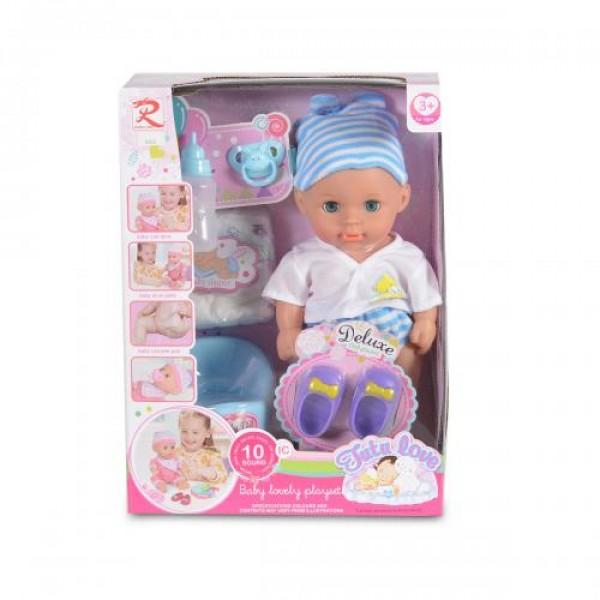 Кукла 31 см пишкаща - 8265
