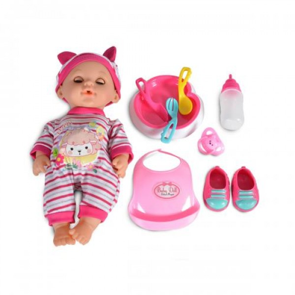Кукла 31 см пишкаща - 8261