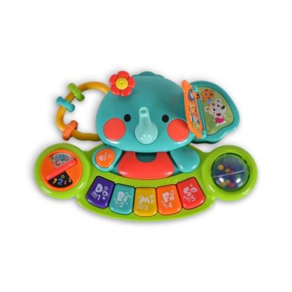 Бебешко музикално пиано Hola Elephant - 3135