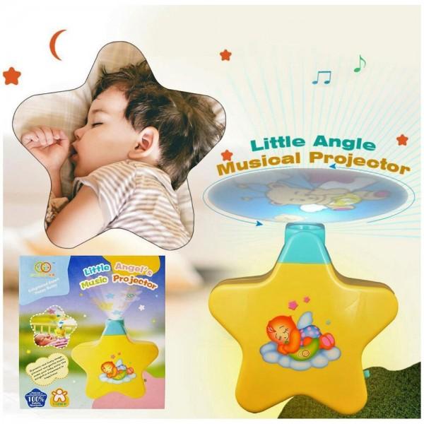Музикален прожектор Малките ангелчета 8661