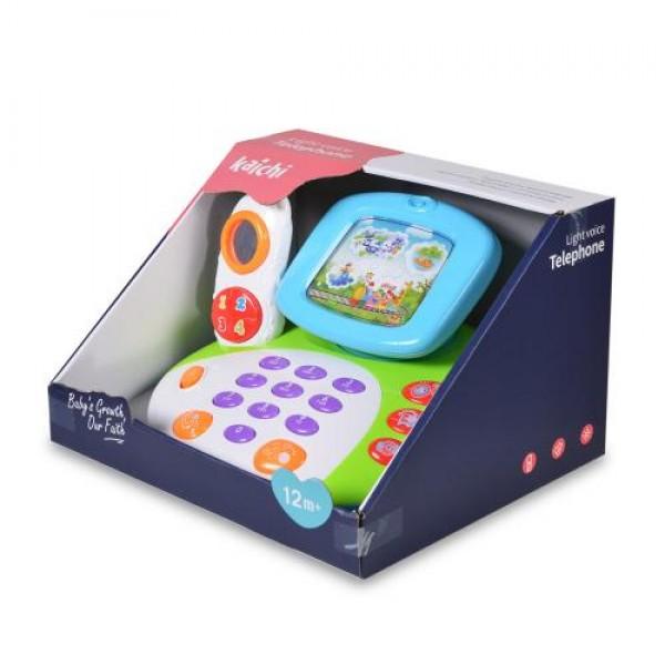 Музикален телефон с LED екран - K999-137B