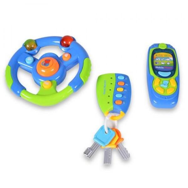 Комплект музикален волан, телефон и ключодържател - K999-81B
