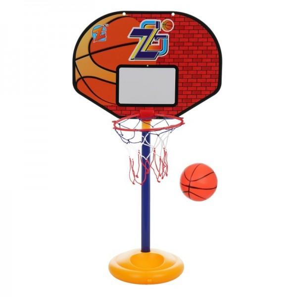 Комплект 2 в 1 футболна врата и баскетболен кош с включени топки