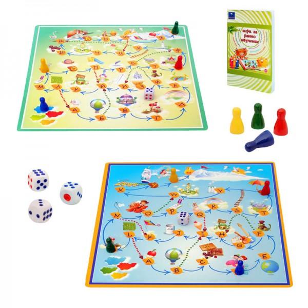 Занимателна игра за ранно обучение