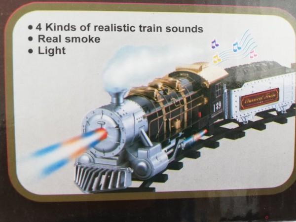 Голям влак на релси