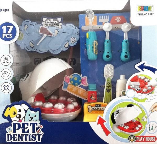 Комплект куче зъболекар