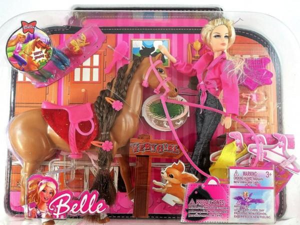 Кукла с кон Belle