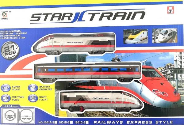 Влак на релси STAR TRAIN