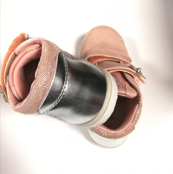 Кожени обувки момиче pink