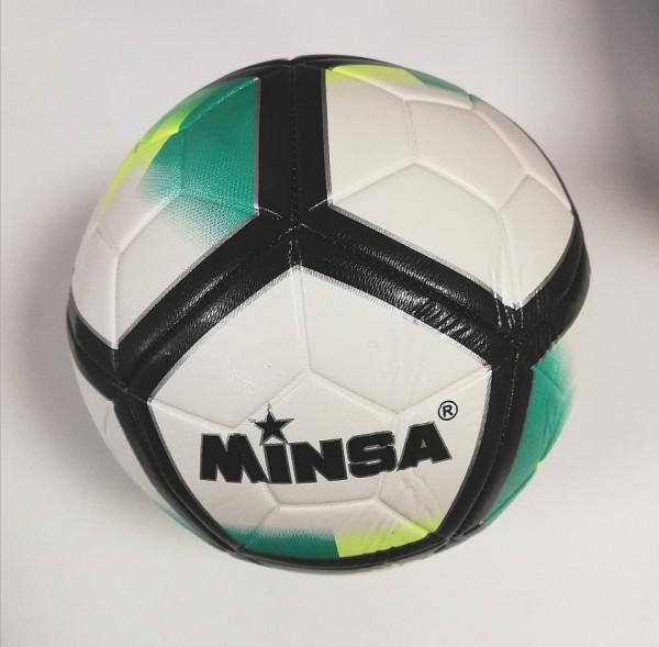 Футболна топка 5-ца кожа Minsa