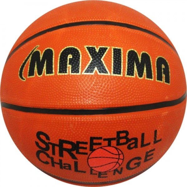 Топка баскетбол MAXIMA №7 гумена с дълбок релеф