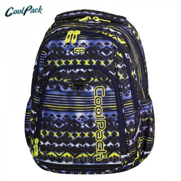 Cool Pack Strike - Ученическа раница Tie dye blue 73073