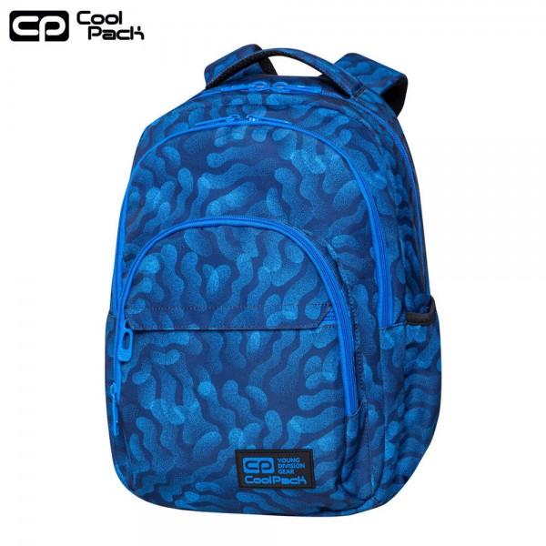 Cool Pack Basic Plus Ученическа раница с две отделения Blue Dream C03182
